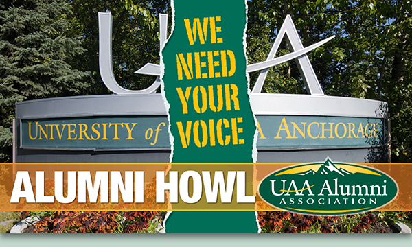 UAA Alumni Howl newsletter